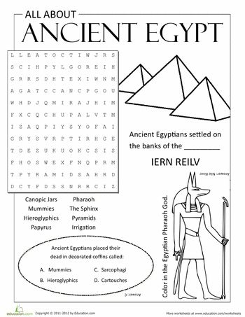 All About Ancient Egypt | Social Studies | Ancient egypt lessons ...