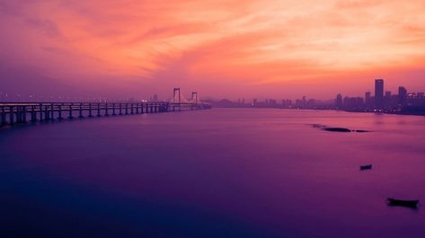 Beautiful Sunset Square Dalian Ultra Hd 16k Wallpaper All