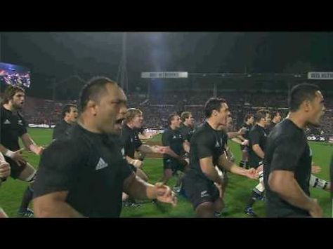 A different Haka. An old ritual remade from modern parts and circumstances.