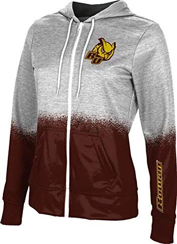 School Spirit Sweatshirt ProSphere California State University Chico Girls Zipper Hoodie Spray Over