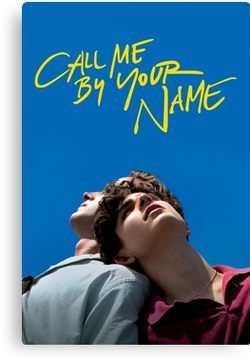 Call Me By Your Name Poster Canvas Print Your Name Movie Your Name Full Movie Streaming Movies Free