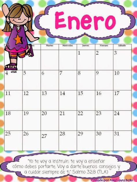 Pin De Karina Guerrero En Calendario Calendario Preescolar Calendario Escolar Libros Didacticos Para Niños