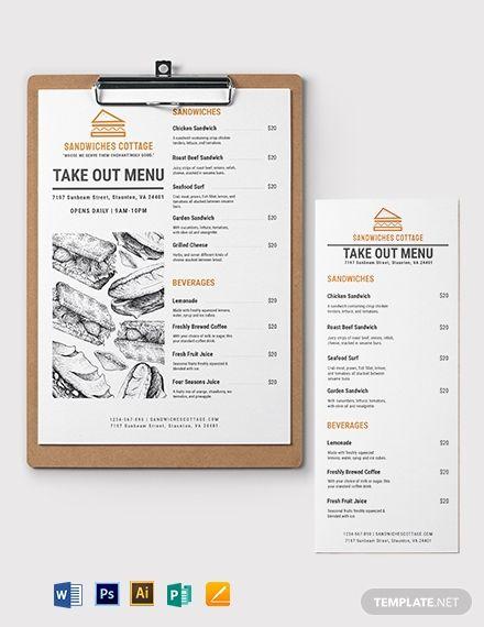31 Takeaway Menu Template Free Psd Jpeg Ai Format In Take Out Menu Template Menu Template Menu Design Template Menu Template Word