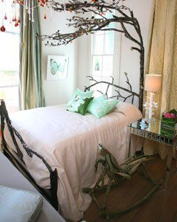 Princess Decorating For A Fairytale Bedroom Tree Bed Amber Interiors Design Camping Bedroom Decor