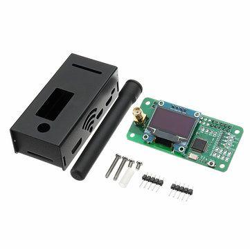 Antenna + Aluminum Case + OLED + MMDVM Hotspot Support P25 DMR YSF