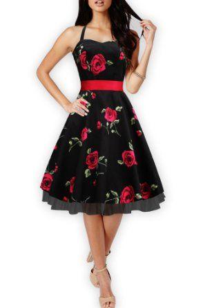 BlackButterfly Rhya Infinity Vintage Rockabilly Floral Party Dress