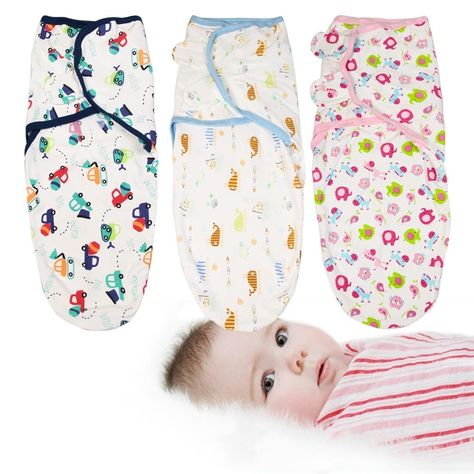 Top Fashion Unicorn swaddle blanket baby sleepsack adjustable newborn cloth soft fleece infant receiving wrap 0-6 months