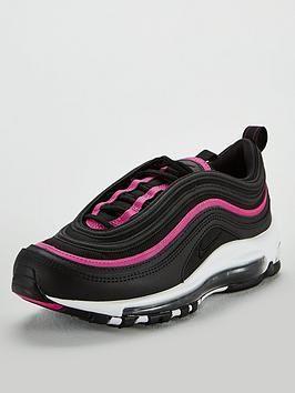 Nike Air Max 97 Lux BlackPink , BlackPink, Size 3, Women