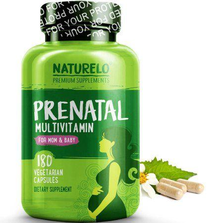 Prenatal Multivitamin With Folate Iron And Vegan Dha 180 Capsules Walmart Com Prenatal Multivitamin Organic Prenatal Vitamins Whole Food Multivitamin