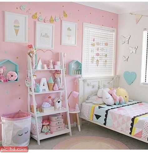 حجرة اطفال صور غرف نوم اطفال حديثة تصميمات حجرات نوم للأطفال Toddler Bedroom Girl Kids Bedroom Designs Girly Room
