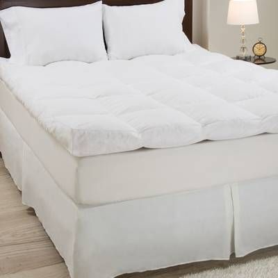 Clevenger Romy 4 Feathers Mattress Topper Feather Mattress Mattress Mattress Topper