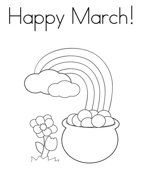 March Coloring Pages Best Coloring Pages For Kids Spring Coloring Pages Preschool Coloring Pages Printable Coloring Pages