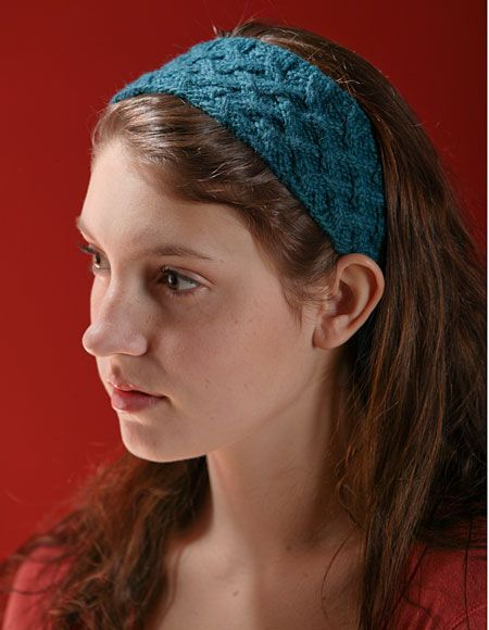 Headband And Headwrap Knitting Patterns Ursulabrown2 Pinterest