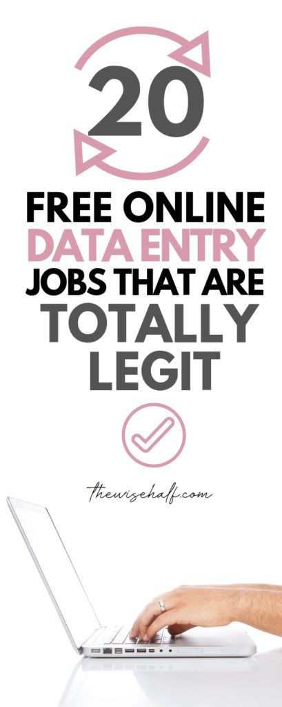 20 Legitimate Data Entry Jobs From Home Without Investment.