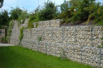 Naturstein Direkt Gmbh Co Kg Natursteine Gabionenwand Und Gabione Stutzmauer