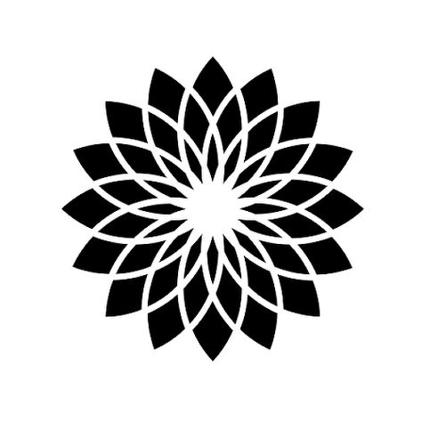 Sunburst by Joshua Marino is a Flowers temporary tattoo from inkbox - 1