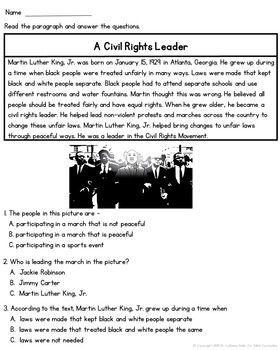 Martin Luther King, Jr  (Civil Rights) | Second Grade