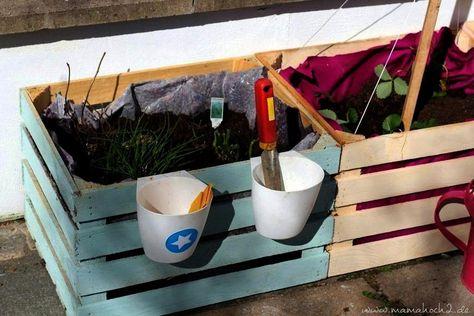 Boxesnachmachen Nachmachen Mamahoch2 Dedicated Builtzum Hochbeet Children Planting Minuten Kidnach Imitate Minutes Garden Geba Raised Garden Beds Kid Beds Garden Boxes