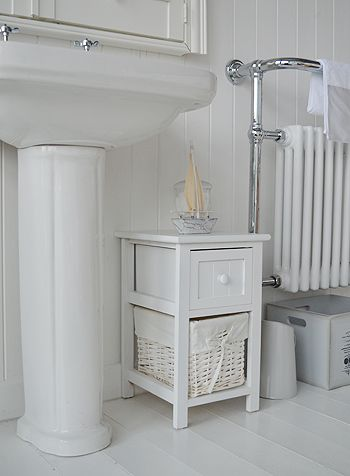 coastal bathroom cabinet furniture from the white lighthouse for a rh pinterest com