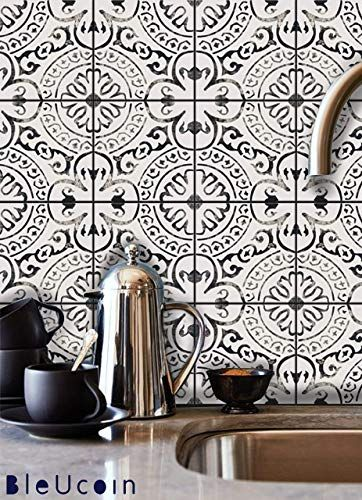 The Amalfi Tile Stickers Kitchen Bathroom Backsplash Peel Stick