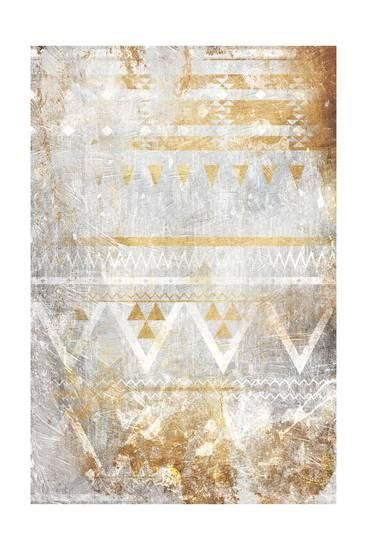 Jace Takeover : takeover, Aztec, Takeover, Gold', Print, Art.com, Print,, Prints
