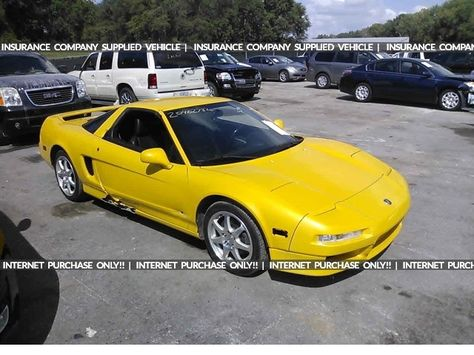 Salvage 1997 Acura Nsx T Coupe For Sale Salvage Title Acura