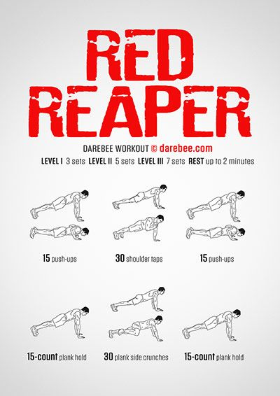 DAREBEE Workouts | Workout | Workout, Home workout men, Hiit