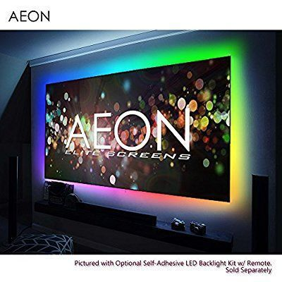 Amazon Com Elite Screens Aeon 120 Inch Diagonal 16 9 8k 4k Ultra Hd Ready Alr Ambient Light Rejecting Edge Fre Projector Screen Ambient Lighting Projector