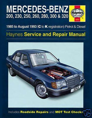 Advertisement Ebay Mercedes Classe E W124 200e 230e 250e 260e