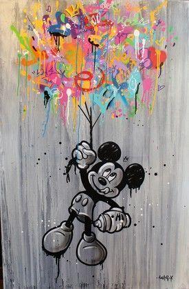 Look Away 3 Par Seaty 2018 Peinture Artsper 407506 In 2020 Mickey Mouse Art Disney Phone Wallpaper Mickey Mouse Wallpaper Iphone