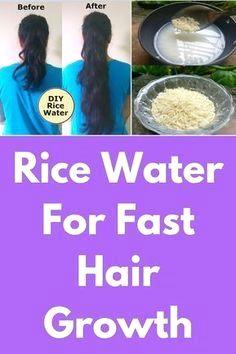 Steps To Make Rice Water For Natural Hair Hair Growth Diy Hair Growth Faster Hair Mask For Growth