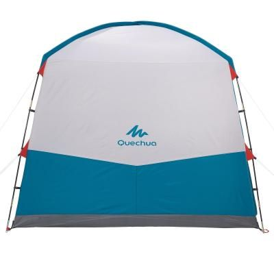 Base Camp Shelters Family Tents Arpenaz Base M Living Area In 2020 Tent Family Tent Camping Shelters