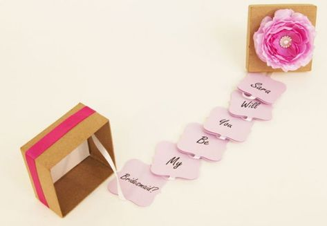 15 Creative Ways to Propose to Your Bridesmaids (Plus An Easy DIY Project!) | The Knot Blog  Wedding Dresses Shoes & Hairstyle News & Ideas #howtogethimtopropose