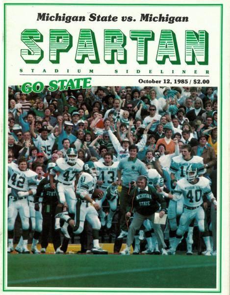 1985 Michigan State Football Google Search In 2020 Michigan State Football Michigan State Michigan