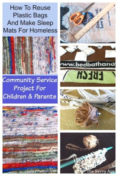Tutorial To Make Sleep Mats From Plastic Bags For The Homeless Community Service Project To Recycl Reuse Plastic Bags Plastic Bag Crafts Recycled Plastic Bags