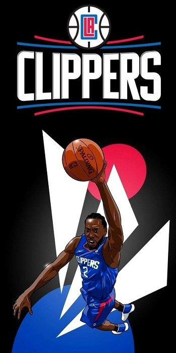 Kawhi Leonard In 2020 Nba Art Los Angeles Clippers Nba Players