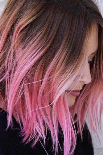 25+ Short pink balayage ideas