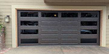 Garage Doors With Side Windows By