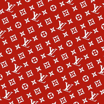 Louis Vuitton Supreme White Red Pattern Rotated By Supla Fresh Red And Black Wallpaper Red And White Wallpaper Louis Vuitton Supreme
