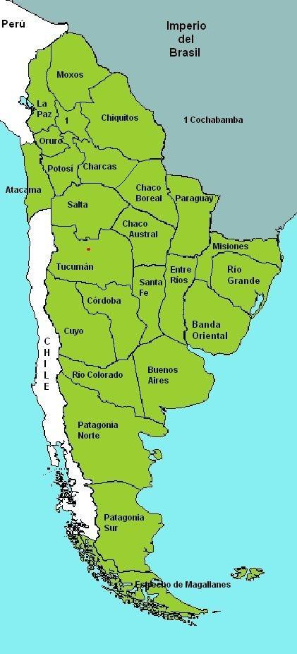 Provincias Del Río De La Plata Mapas Antigos Mapa Mapas Históricos