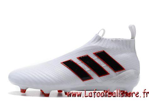 Adidas Homme Football Chaussure ACE 17+ PURECONTROL terrain souple Noire  Bleu - 1704060732 - Chaussures de Foot | officielle Maillots | lafootballs…