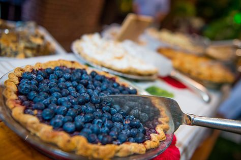 What picnic in the city would be complete without house-made pies; bluberry crumble, lemon curd, seven berry with dutch chocolate crust, apple & lemongrass, peanut butter,dark chocolate with bacon......YUMM !