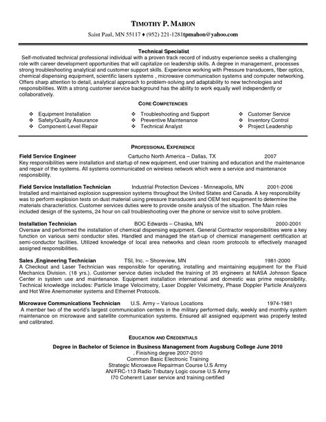 computer support resume senior systems analyst resumes network - General Contractor Resume Sample