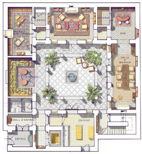 MOROCCAN HOUSE, Dubai HOUSE PLANS Pinterest Moroccan, Morocco