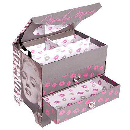 Enchante 3 Piece Cosmetic Bag Gift Set Kisses and Polka Dot Set