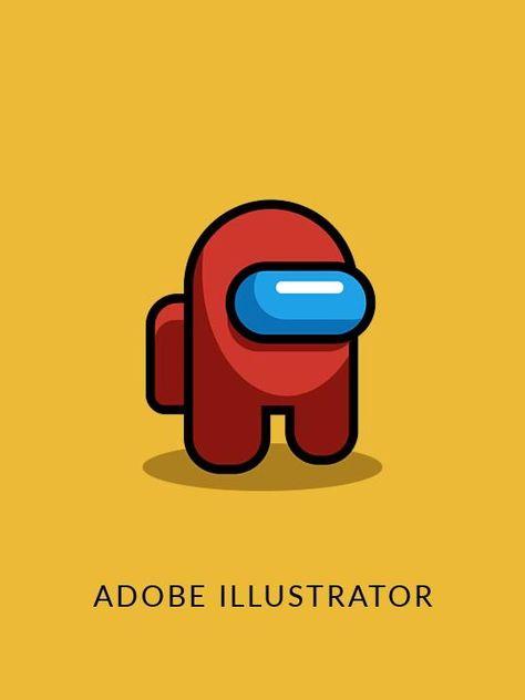 Among Us character design | Elkrees Design