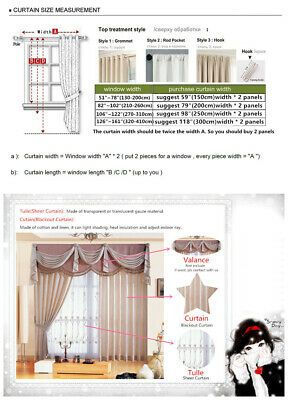 Luxury Modern Chenille Bedroom Coffee Cloth Blackout Curtain Panel
