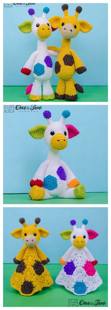 free crochet mini giraffe pattern | craftgawker | 1318x474