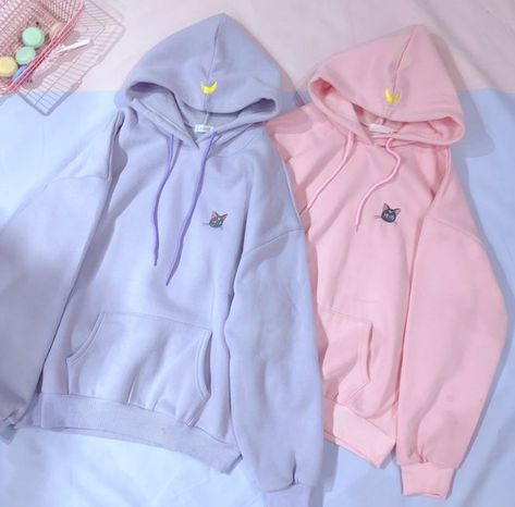 Sailor Moon Hoodie in 2019 | Sailor moon outfit, Kawaii