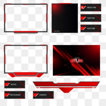 Streaming Overlay Design Twitch Overlay Live Streaming Live Streaming Twitch Overlay Png And Vector With Transparent Background For Free Download Free Overlays Overlays Overlays Transparent